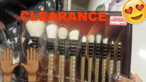 favorite section in target the clearance section ft sonia kashuk limited edition makeup brushes you