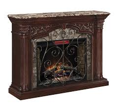 com classicflame 33wm0194 c232 astoria wall fireplace mantel empire cherry electric fireplace insert sold separately kitchen dining