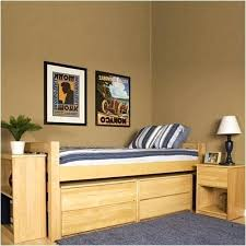 Twin Xl Bed With Storage Twin Bed Frame Wood With Twin Bed With ...