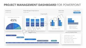 Project Powerpoint Project Management Dashboard For Powerpoint Pslides