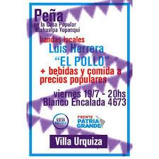 VIERNES DE MÚSICA EN VIVO . . Con... - Patria Grande Villa Urquiza - Atahualpa  Yupanqui