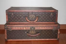 vintage louis vuitton trunk. antique vintage louis vuitton alzer steamer trunk luggage suitcase set vuitton