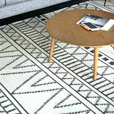 black and white modern rug black white rug wool carpet geometric rug plaid black white grey black and white modern rug