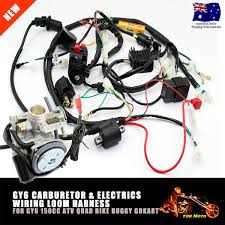 gy6 150cc atv quad buggy carby carburetor wire harness wiring gy6 150cc atv quad buggy carby carburetor wire harness wiring harness solenoid
