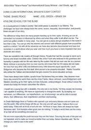 on peace essay on peace