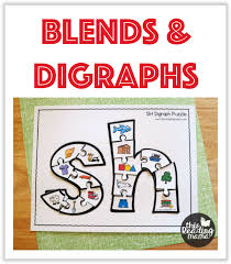 Consonant Blend Chart Printable Blends And Digraphs Printables This Reading Mama