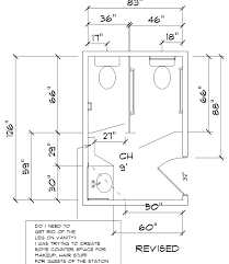 bathroom requirements floor plan