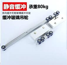 sliding glass door wheels solid aluminum top hung sliding glass door roller soft close shower box
