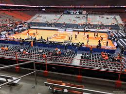 Carrier Dome Basketball Seating Chart Rows Carrier Dome Section 211 Syracuse Basketball