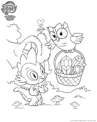 jpg for my little pony spike coloring pages