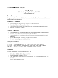Resume Template Functional For Canada Joblers In Free 87 Awesome