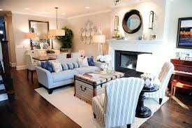 combined living dining room