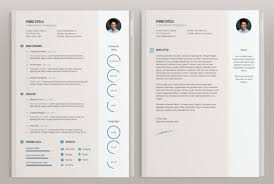 Indesign Resume Templates Custom Adobe Indesign Resume Template Cover Letter Template Design