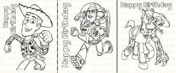 Funny toy story coloring page for children : Toy Story Birthday Coloring Page Printable Toy Story Party Etsy