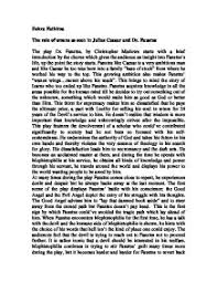significance of omens as seen in dr faustus and julius caesar  page 1 zoom in