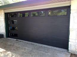 black garage doorsThe 25 best Black garage doors ideas on Pinterest  Painted
