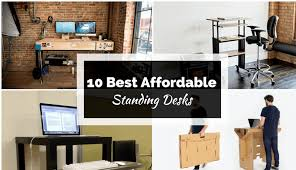 10 best standing desks that are high in quality and in