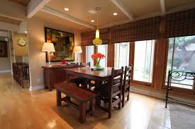 modern dining lighting. Mid Century Modern Dining Lighting Beautiful Room With Brown Table Set And Adorable Yellow
