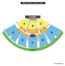 Klipsch Music Center Noblesville In Seating Chart Klipsch Music Center Seating Chart Luxury Tickets 2 Billy