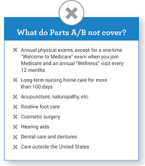 What Does Medicare Part A And B Cover My Medicare Matters