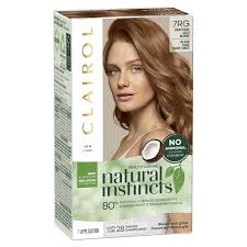 Natural Instincts Light Golden Red Clairol Relaunches Natural Instincts Hair Dye Line With