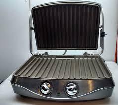 calphalon electric countertop sandwhich grill panini press model he600cg silver