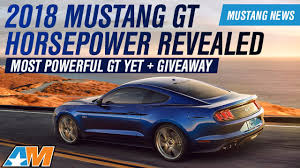 2018 ford mustang gt automatic. 2018 ford mustang gt \u0026 ecoboost horsepower, torque, and specs revealed - news gt automatic