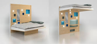 furniture that transforms. Espace Loggia Hop \u0026 Up Mobile Bed Transforms Into Home Office Furniture That A