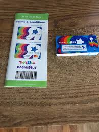 toys r us rewards card x25 r us credit card phlet esrus 1 of 1 see more