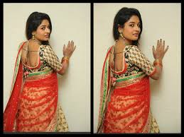 Saree Blouse Designs Front And Back 2017 Half Saree Blouse Designs 2017 Latest Blogger