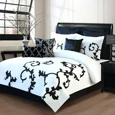 black and white bed spreads 9 piece cal king ss black and white comforter set grey
