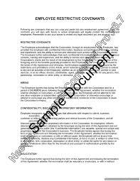 Employment Agreements Restrictive Covenants For Employment Agreements Lawyerau 16