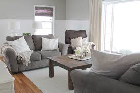this living room is light and bright yet rustic and cozy at the same time
