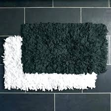black and white bathroom rug sets gray bath mat rugs set 3 piece furniture amusing fluffy