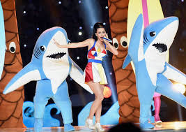 katy perry reveals left shark s dirty new job getty images
