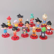 Tronzo <b>13Pcs</b>/<b>Set Dragon Ball</b> Action Figure Goku Vegeta Gohan ...