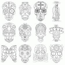 Small Picture Adult Coloring Pages Sugar Skull Coloring Home