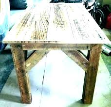 Image Rustic Philosophicallive Barnwood Table Plans Philosophicallive