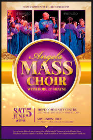 anniversary poster template choir flyer ohye mcpgroup co