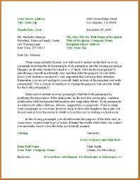 Formatting A Business Letter. Business Letter Format With Thru