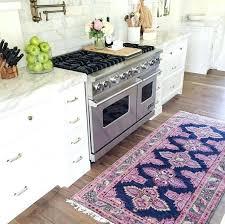 white kitchen rugs white red