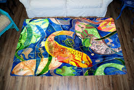 sea life area rugs from my art tropical fish tropical area rugs by gifts by the beach