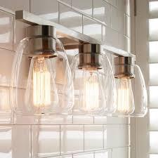 contemporary bath lighting. sleek contemporary bath light 3 satin_nickel lighting r