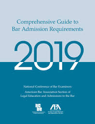 Bar Admission Guide Ncbe