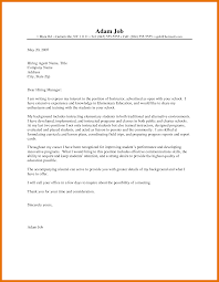 Free Downloadable Cover Letters Sample Resumes For Graduate School