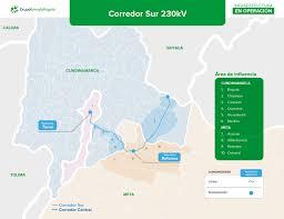 Corredor Sur (Guavio - Reforma Tunal) 230 kV - Transmisión