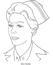 Nursing Coloring Pages Male Nurse Coloring Page With Thermometer