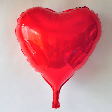 36 inch Red Heart Foil Balloons(90cm) sale on balloonsale.us