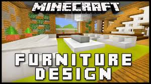 Minecraft Living Room Furniture Minecraft How To Make Furniture For A Living Room Modern House
