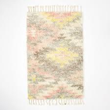 soft wool rug 3 5 grey pale pink gold harlow